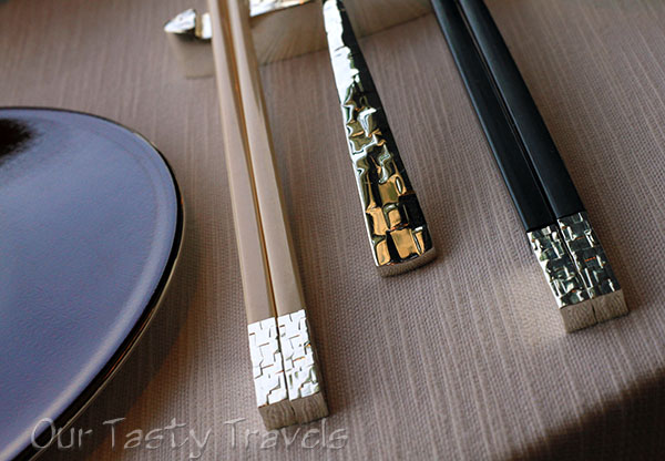 Tin Lung Heen utensils