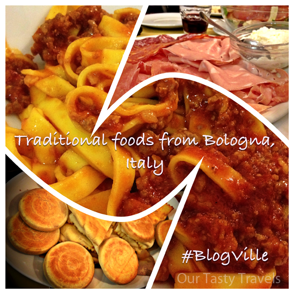 Traditional foods from Emilia Romagna, Italy
