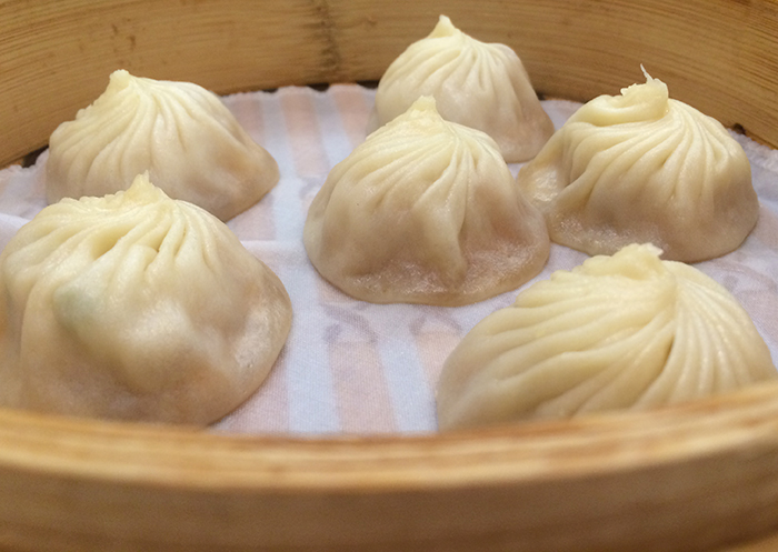 Pork Xiao Long Bao from Din Tai Fung in Taipei, Taiwan