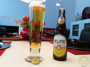 26-May-2015 : Edel Pils by Alfa Bierbrouwerij B.V. Definitely not bad for a local Pilsner. #ottbeerdiary