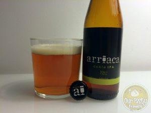6-May-2015 : Doble IPA by Cervezas Arriaca. Nice citrusy bitterness. #ottbeerdiary