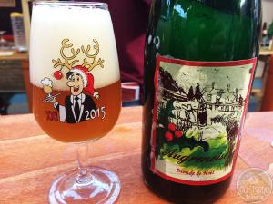 Augrenoise Blonde de Noël by Brasserie Augrenoise – #OTTBeerDiary Day 354