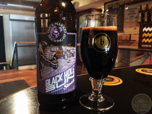 31-Jul-2015 : Black Hole Sun by Black Market Brewing Co. Oh that smell. Could it have the tootsie roll effect? The flavor. Oaked? Vanilla. Caramel. Dark and a little sweet. Oh, so close! Slight tartness on the aftertaste. This is quite a lovely beer. #ottbeerdiary