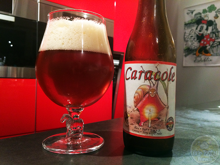 Caracole Ambrée (Amber) by Brasserie Caracole - #OTTBeerDiary Day 271