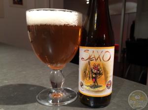 30-Jan-2015 : Saxo by Brasserie Caracole. #ottbeerdiary