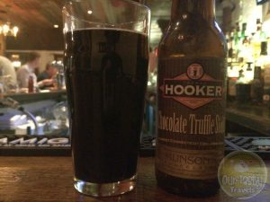 5-Mar-2015 : Chocolate Truffle Stout by Thomas Hooker Brewing Co. - A chocolately collaboration with Munson's chocolates. Lots of cocoa flavor, and a hint of bitterness. #ottbeerdiary
