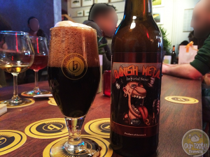 3-Apr-2015 : Danish Metal by Amager Bryghus. Collaboration with Jester King. Great dark flavors. Coffee, chocolate tending towards some anise in the end. Delicious! #ottbeerdiary