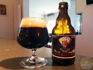 22-May-2015 : Dead Man's Hand (Wine Barrel Aged). Black flavors of chocolate and licorice. And hints of dark fruits, like cherries. Well done! #ottbeerdiary