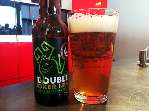 17-Apr-2015 : Double Joker DIPA by Williams Brothers Brewing Co. Hoppy indeed. But a bit malty as well. #ottbeerdiary