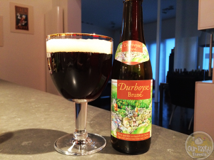 26-Mar-2015 : Durboyse Brune by Brasserie Lefebvre. A basic Belgian Bruin. Nothing special. Not too sweet. But not much other flavor either. #ottbeerdiary