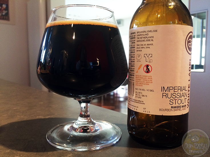 White Label Imperial Russian Stout Makers Mark BA by Bierbrouwerij Emelisse - #OTTBeerDiary Day 270