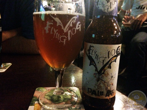21-April-2015 : Pale Ale by Flying Dog Brewery. A very decent pale ale, nice bitterness, a little bit of fruitiness, but definitely more bitterness than sweetness. #ottbeerdiary