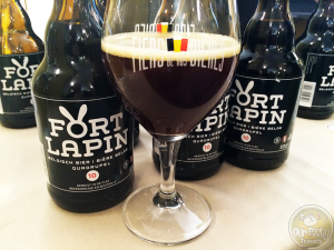 29-Aug-2015: Fort Lupin Quadrupel 10 by Fort Lapin Brewery. Almost more of a stout. Nice coffee flavor. Dark fruit and chocolate. #ottbeerdiary #ebbc15