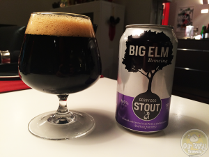 Gerry Dog Stout by Big Elm Brewing – #OTTBeerDiary Day 375