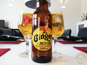24-May-2015 : Ginger Grouse by The Famous Grouse. Very gingery. Like a glass of ginger ale soda. But with 4% abv. #ottbeerdiary