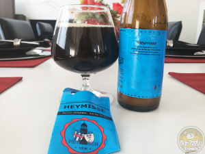 11-Jun-2015 : Heymisse by De Verhuisbrouwerij. Love the dark coffee and sour flavors. But alas, a gusher. Open over the sink if you find one of these! #ottbeerdiary