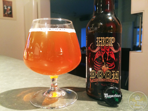 25-Aug-2015: Hop Doom by Naparbier. An Imperial IPA from Spain. Holy Hops! A little malty sweetness too, but then there's the hops again! And again! #ottbeerdiary