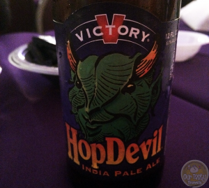 7-Mar-2015 : HopDevil by Victory Brewing Company - A Pennsylvania beer for a great day in Pennsylvania. Hoppy and delicious. #ottbeerdiary