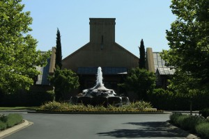 Entrance of Franciscan Winery