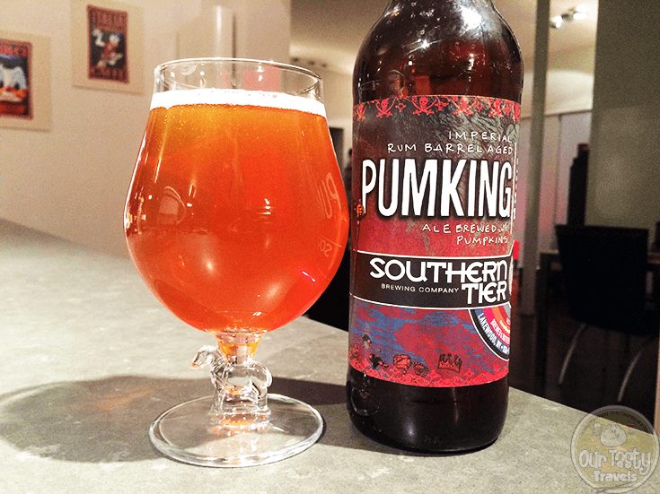 Pumking Imperial Rum Barrel Aged by Southern Tier Brewing Company - #OTTBeerDiary Day 330