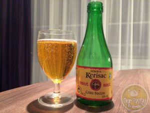 14-May-2015 : Cidre Breton Brut Reserve by Cidres Kerisac. When in the French countryside, the Loire Valley in this case, Cidre is often the brewed beverage of choice vs. beer. This one is dry, but a little sweet. Tasty. #ottbeerdiary