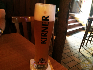 26-Jul-2015 : Kirner Weizen by Kirner Privatbrauerei Ph. und C. Andres. From this afternoon in Cochem, at Zum Kellerchen in the old town center. Decent Hefe. #ottbeerdiary