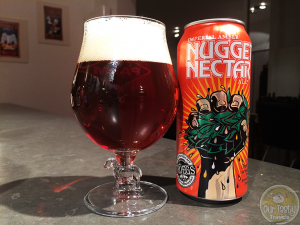 16-Feb-2015 : Nugget Nectar by Tröegs Brewing Company - One of the best beers I've had this year! Imperial Amber Ale with hoppy bitterness, with enough sweetness to balance it out perfectly. #ottbeerdiary