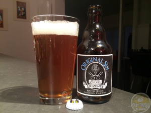 10-Mar-2015 : Original Sin Erfzonde by Brouwerij Schugel is a very enjoyable IPA, with a delightful bitterness and a grapefruity citrus. I liked this quite a lot! Commercial Description: A collaboration between Gulden Spoor, Hugel and the California based Schubros brewery. A West-Coast IPA. #ottbeerdiary