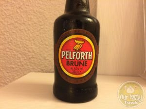 """12-May-2015 : Pelforth Brune by Heineken (France). Surprisingly, not too sweet as a Brune """"Double Malt"""" from a major producer. #ottbeerdiary"""