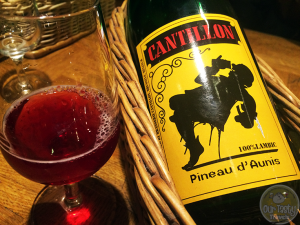 14-Mar-2015 : Pineau d'Aunis by Brasserie Cantillon - A lambic blended with Pineau d' Aunis grapes from the Loire Valley of France. Peppery and Dry. #ottbeerdiary