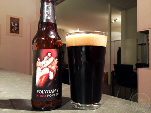 Polygamy Nitro Porter by Wasatch Brewery – #OTTBeerDiary Day 273