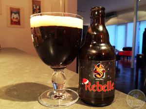 12-Mar-2015 : Rebelle Winterbier by Brouwerij 't Kroontje. Dark chocolate. Spices. Dark fruits. But yeah. 10.5% very evident. #ottbeerdiary
