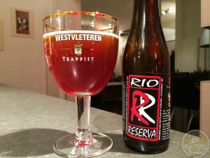 17-Feb-2015 : Rio Reserva 2011 from De Struise Brouwers. A lovely barrel aged quad, aged a year in Saint Emillion Tour Baladoz wine oak barrels, then in Kentucky Bourbon barrels. Toasty vanilla notes on top of the Belgian Quad fruitiness. #ottbeerdiary