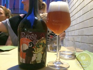 26-Jun-2015 : Rrose Selavy by Dada. Perfect summer terrace beer. Bitter funk. Very enjoyable. #ottbeerdiary #blogville