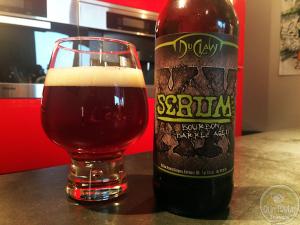 Serum XXIPA Bourbon Barrel Aged by DuClaw Brewing Company – #OTTBeerDiary Day 254
