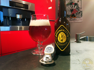 18-Aug-2015: Speciale Vlo by Brouwerij 't Ij. For De Bierkoning in Amsterdam. A hoppy, bitter, Amber ale. Very tasty! This beer won a silver medal at the 2012 Brussels Beer Challenge. They were robbed! #ottbeerdiary