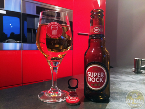27-May-2015 : Super Bock by Unicer Bebidas. From Portugal. Bitter and a little fruity. very funky aroma right out of the bottle. Mini 0.2l bottle. #ottbeerdiary