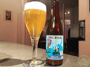 13-Feb-2015: Taras Boulba Extra Hoppy Ale by Brasserie de la Senne of Brussels. A hoppy bitter pale ale. Not too strong, dry and drinkable. #ottbeerdiary