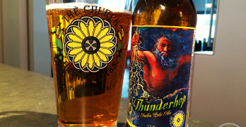 29-Mar-2015 : Thunderhop IPA by The Church Brew Works. A little fruity around the hops. Nice bitterness. #ottbeerdiary