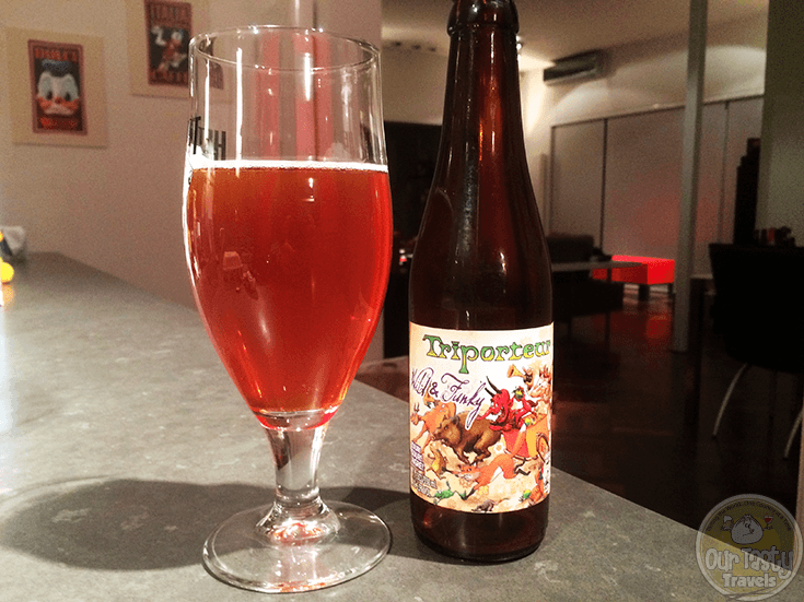 Triporteur Wild & Funky by BOMBrewery - #OTTBeerDiary Day 334
