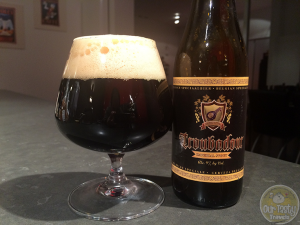 16-Jan-2015 : Troubadour Imperial Stout by Brouwerij The Musketeers. A fine Imperial Russian Stout, with plenty of roasted malts, coffee, and bitterness. #ottbeerdiary