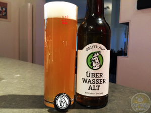 21-May-2015 : Überwasser Alt by Gruthaus - A very nice Alt. Decent bitterness, not too malty. A little fruity. Not bad at all. #ottbeerdiary