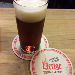 31-Jan-2015 : Uerige Alt by Uerige Obergärige Hausbrauerei. Not too sweet. Nice bitterness. #ottbeerdiary