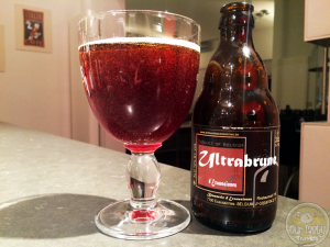 16-Apr-2015 : Ultrabrune by Brasserie d'Ecaussinnes. A little on the sweeter side. Slight tartness but not sour to speak of. #ottbeerdiary
