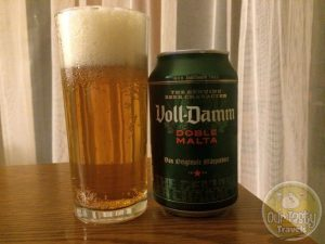 8-May-2015 : Voll-Damm Doble Malta by Grupo Damm. Bitter in a pilsnery way. And sweet from the malts. Too sweet for my taste. #ottbeerdiary
