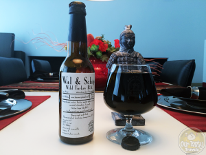 12-Jun-2015 : Wal & Schip Wild Turkey B.A. by Brouwerij De Molen. Heavy on the wild turkey. Almost overpowers the dark cocoa and coffee flavors. Almost. Still very good. #ottbeerdiary