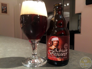 15-Jan-2015 : Adriaen Brouwer Wintergold 2015 by Brouwerij Roman . 10% ABV, and you can taste every percentage point! #ottbeerdiary