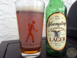 8-Mar-2015 : Traditional Lager by Yuengling Brewery - A traditional red / amber lager from one of America's oldst breweries. #ottbeerdiary