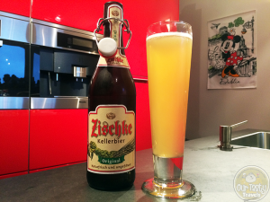 17-Aug-2015: Zischke Kellerbier by Koblenzer Brauerei. Hoppy aroma. Very light flavors. Mild bitterness. More drying aftertaste. #ottbeerdiary